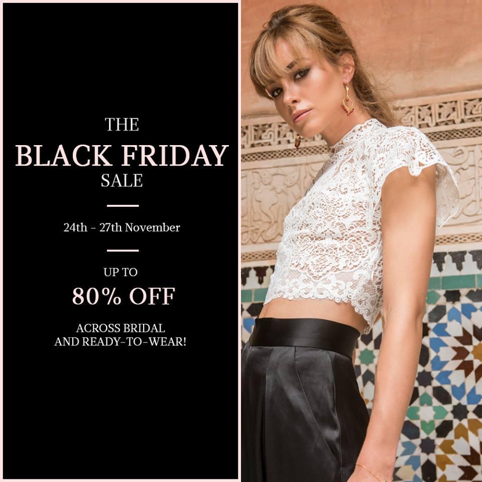 Catherine Deane Black Friday Sale Event, London, November 2017