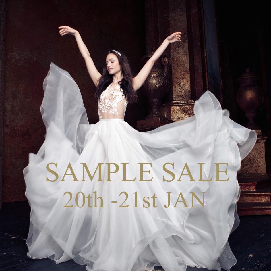 Les Trois Soeurs Bridal Sample Sale London January 2018