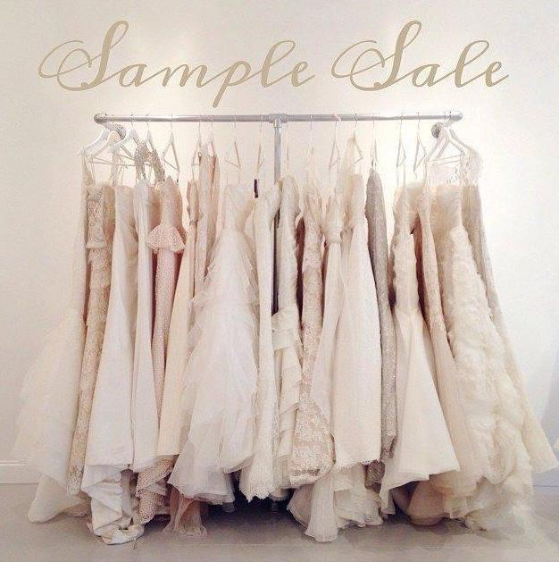 Wedding Dress Sample Sale, London, March 2018