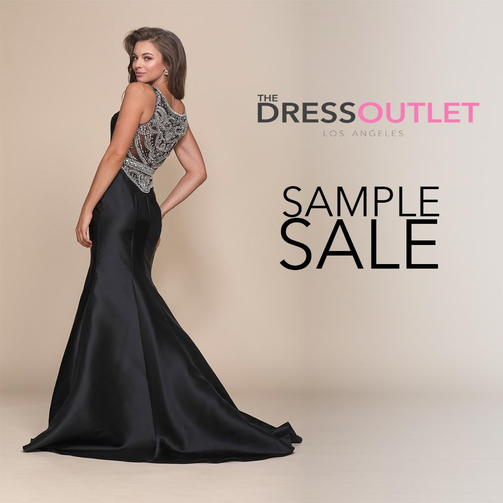 The Dress Outlet Formal Dress Sample Sale, Los Angeles, March 2018