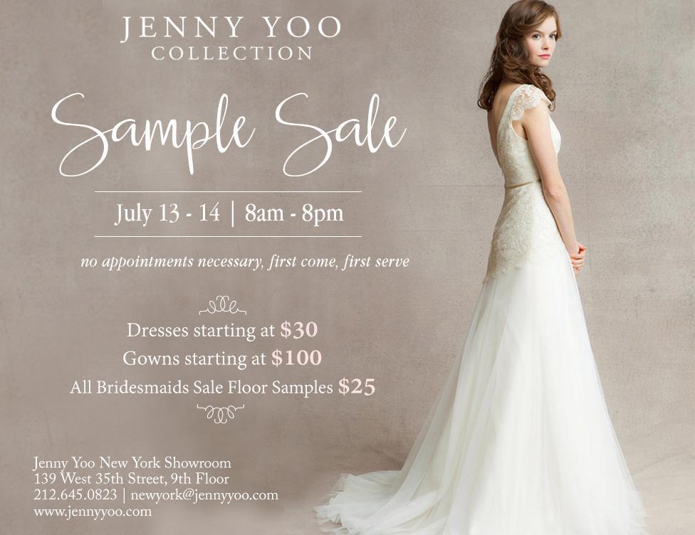 Jenny Yoo Sample Sale, New York, July 2016