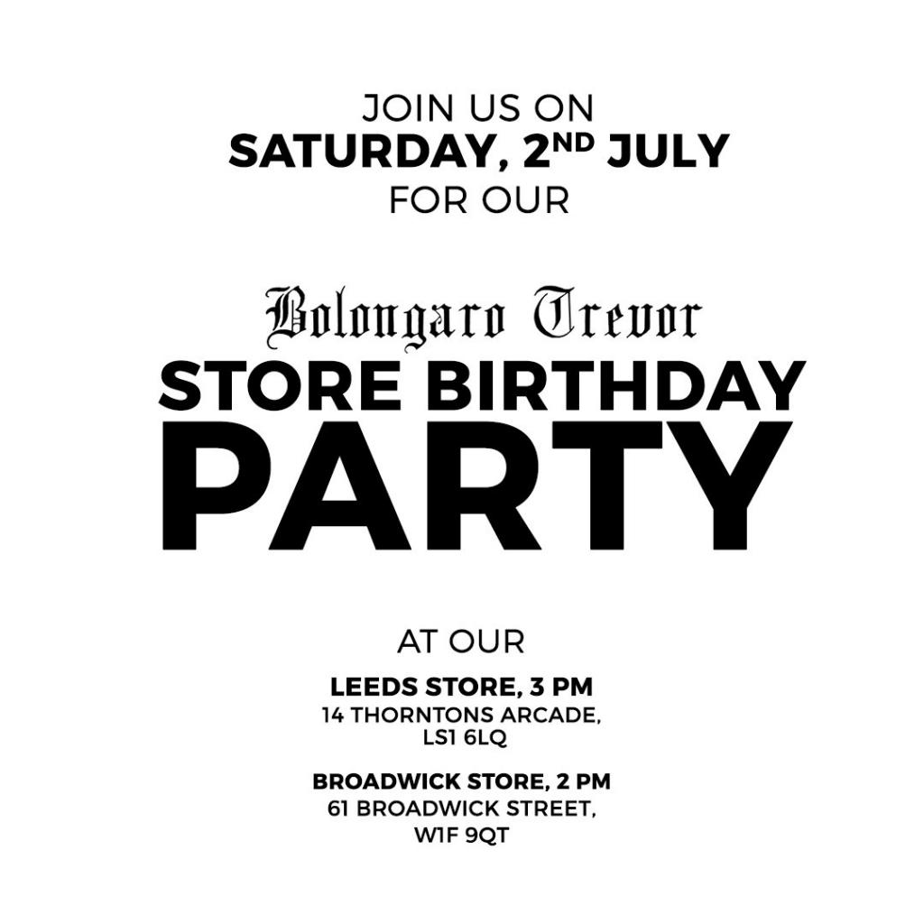 Bolongaro Trevor Store Party