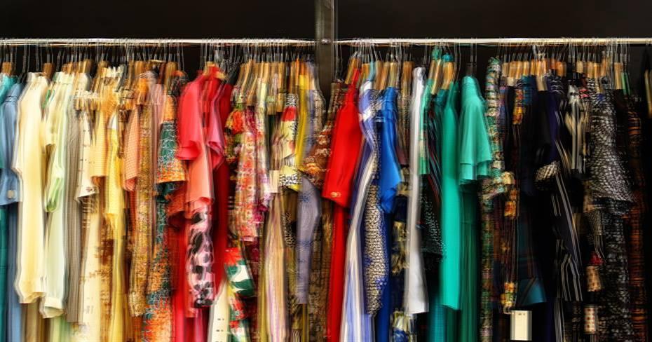 Retrospect Vintage Clothing Kilo Sale, London, April 2017