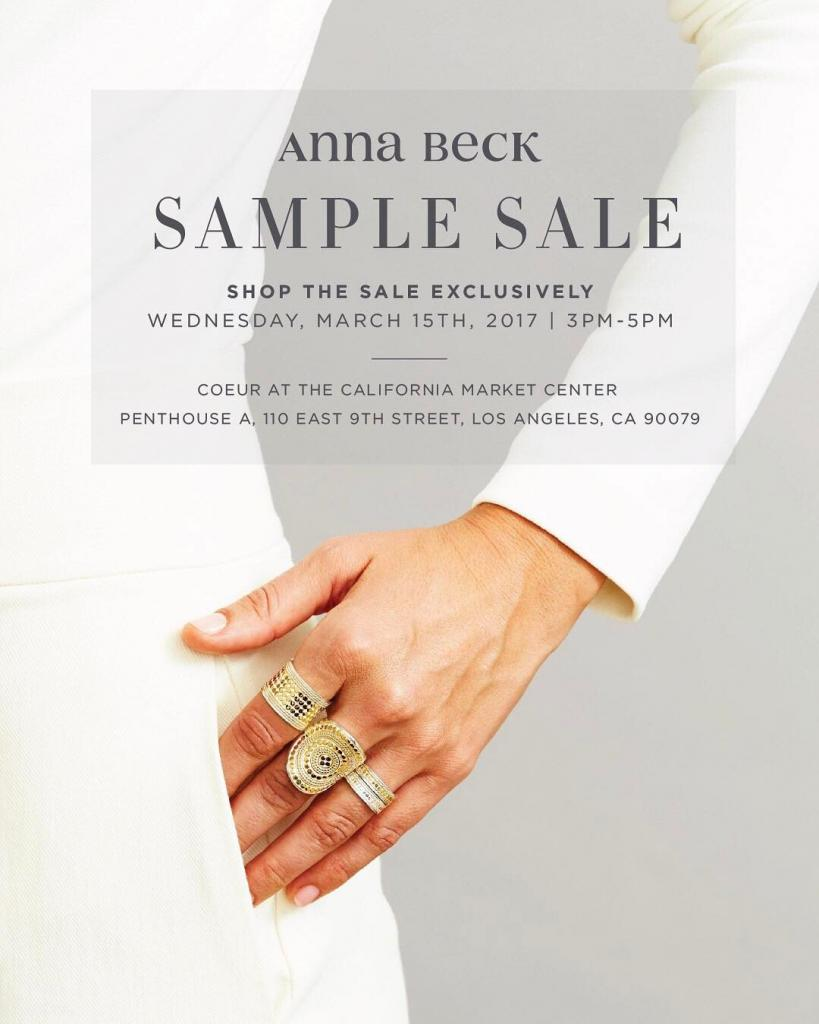 Anna Beck Sample Sale @ COEUR, Los Angeles, March 2017
