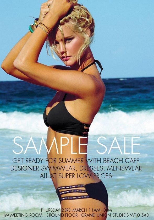 Swimwear Sample Sale