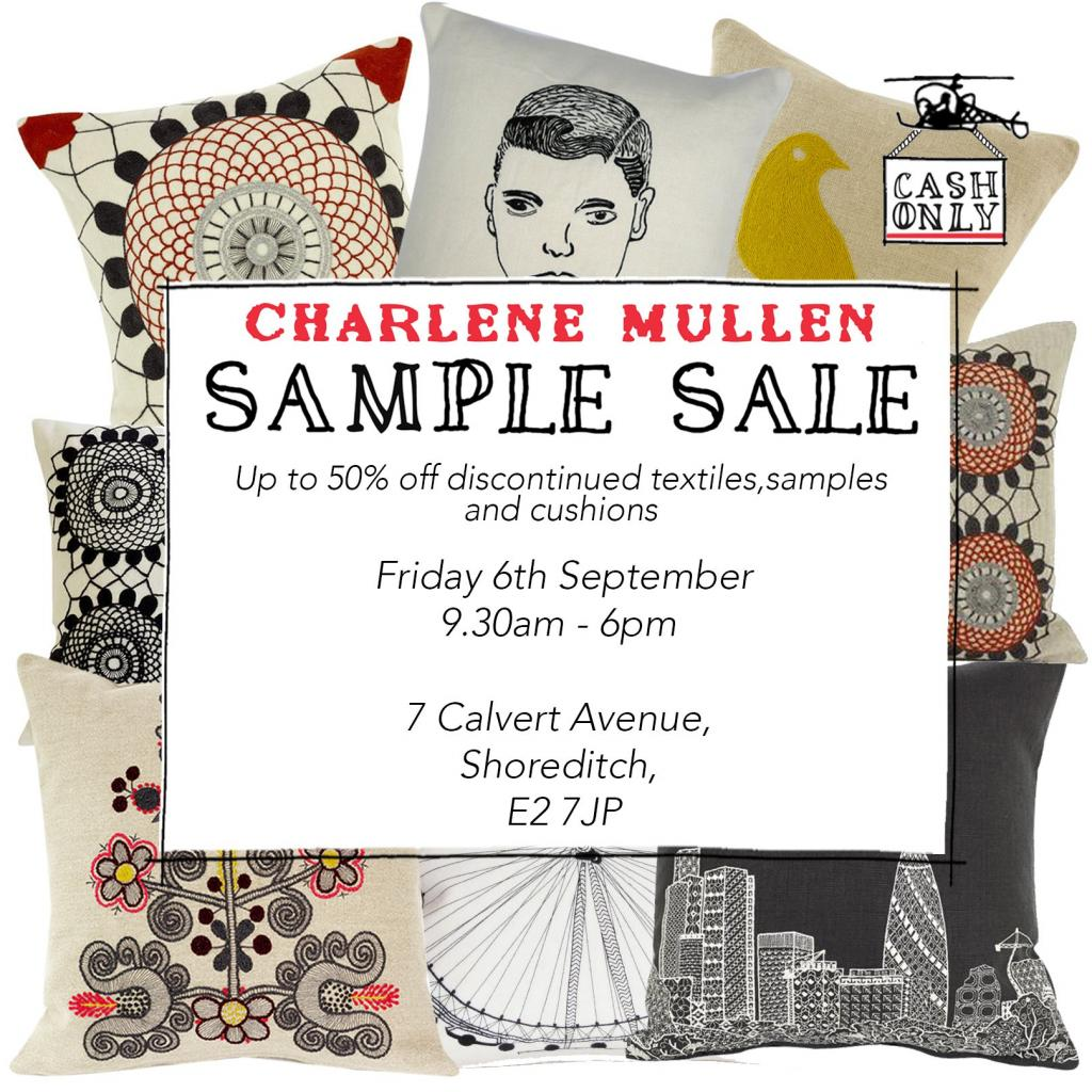Charlene Mullen Sample Sale