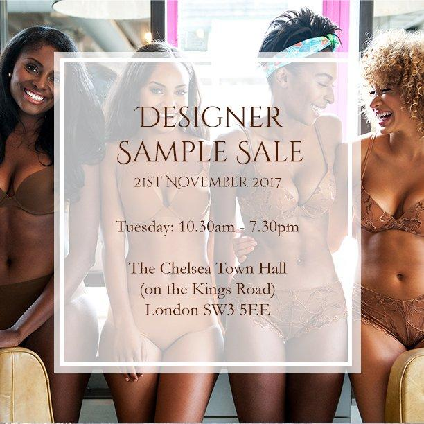 Designer Lingerie & Swimwear Sample Sale