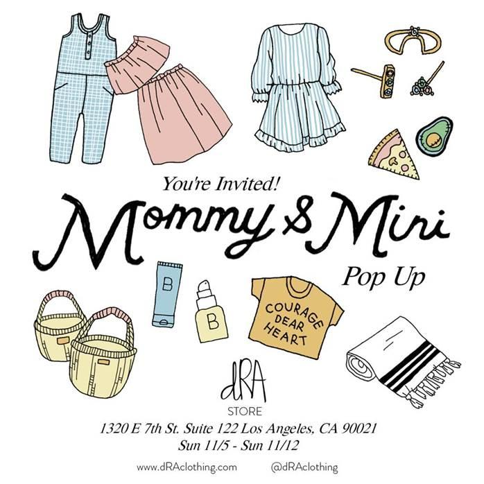 dRA Mommy & Mini Pop Up
