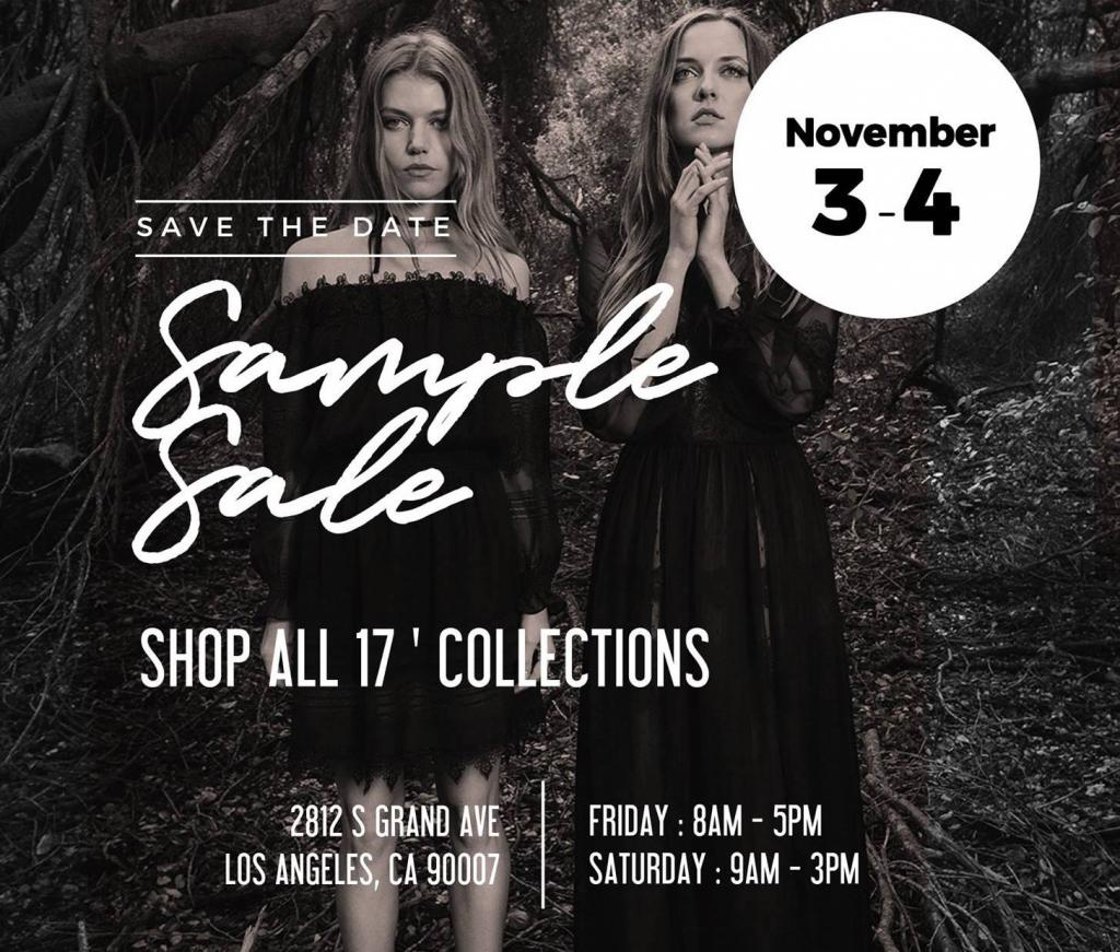Adelyn Rae Sample Sale