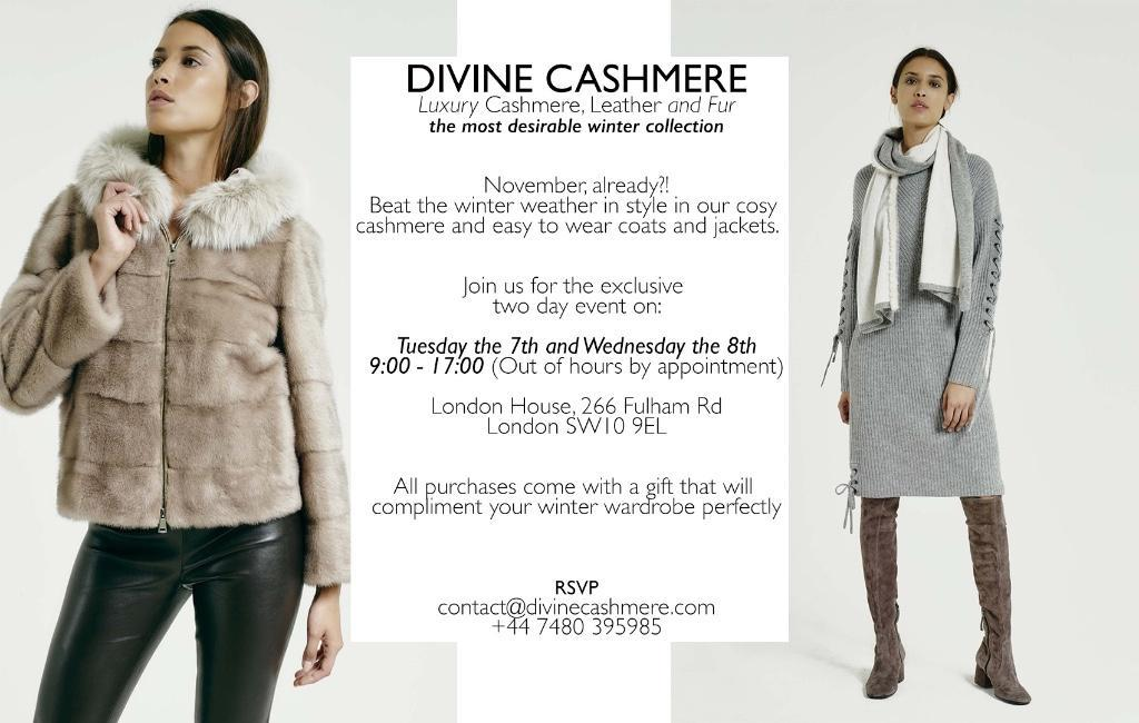 Divine Cashmere Exclusive Private Sale