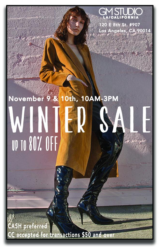 GM Studio Winter Sale Event