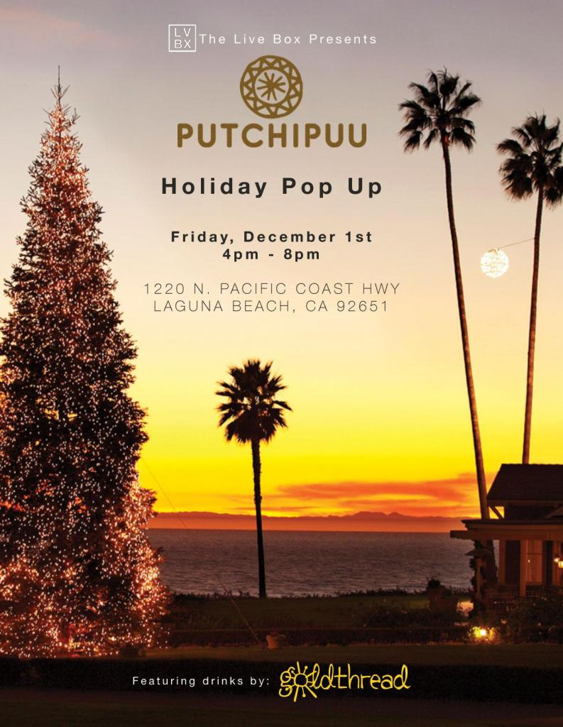 Putchipuu Holiday Pop up