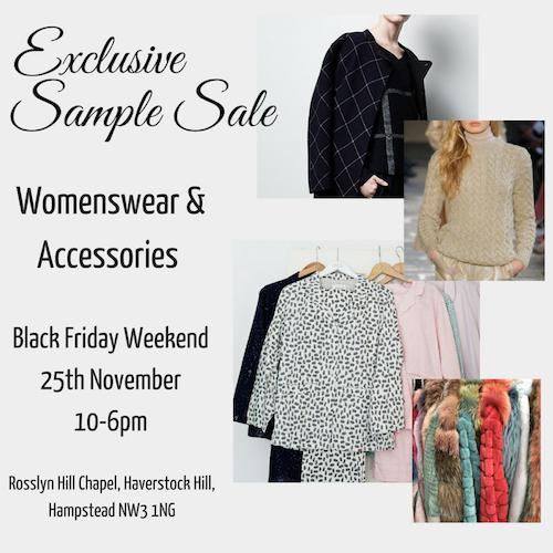 Womenswear Multibrand Sample Sale