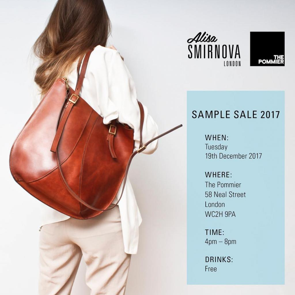 Alisa Smirnova Sample Sale