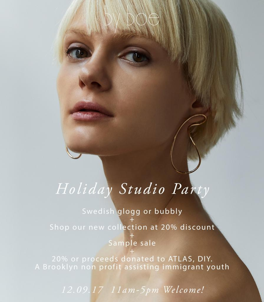 By Boe Holiday Studio Party & Sample Sale