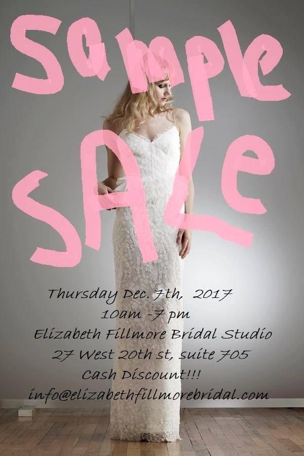Elizabeth Fillmore Bridal Sample Sale