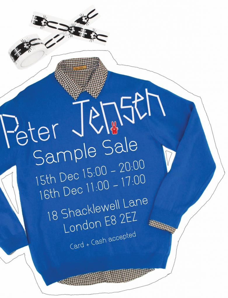 Peter Jensen Sample Sale