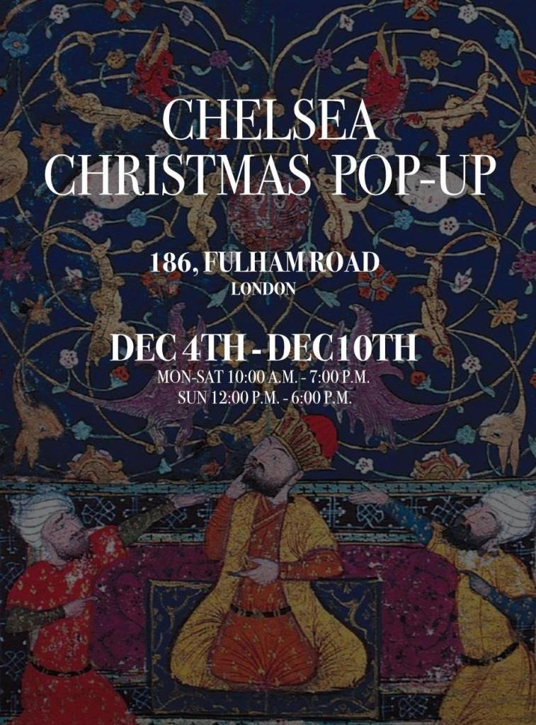 Boté A Mano Chelsea Christmas Pop Up