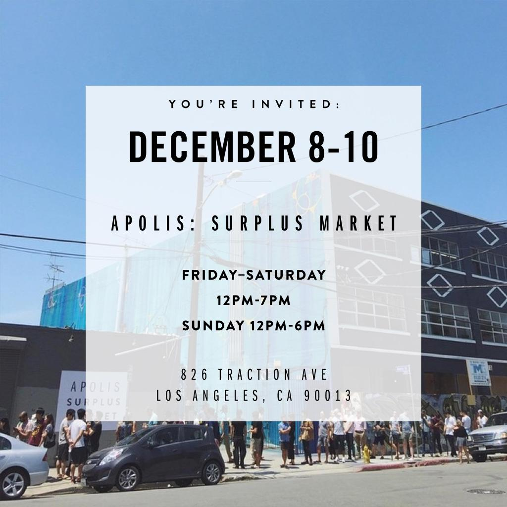 Apolis Surplus Market