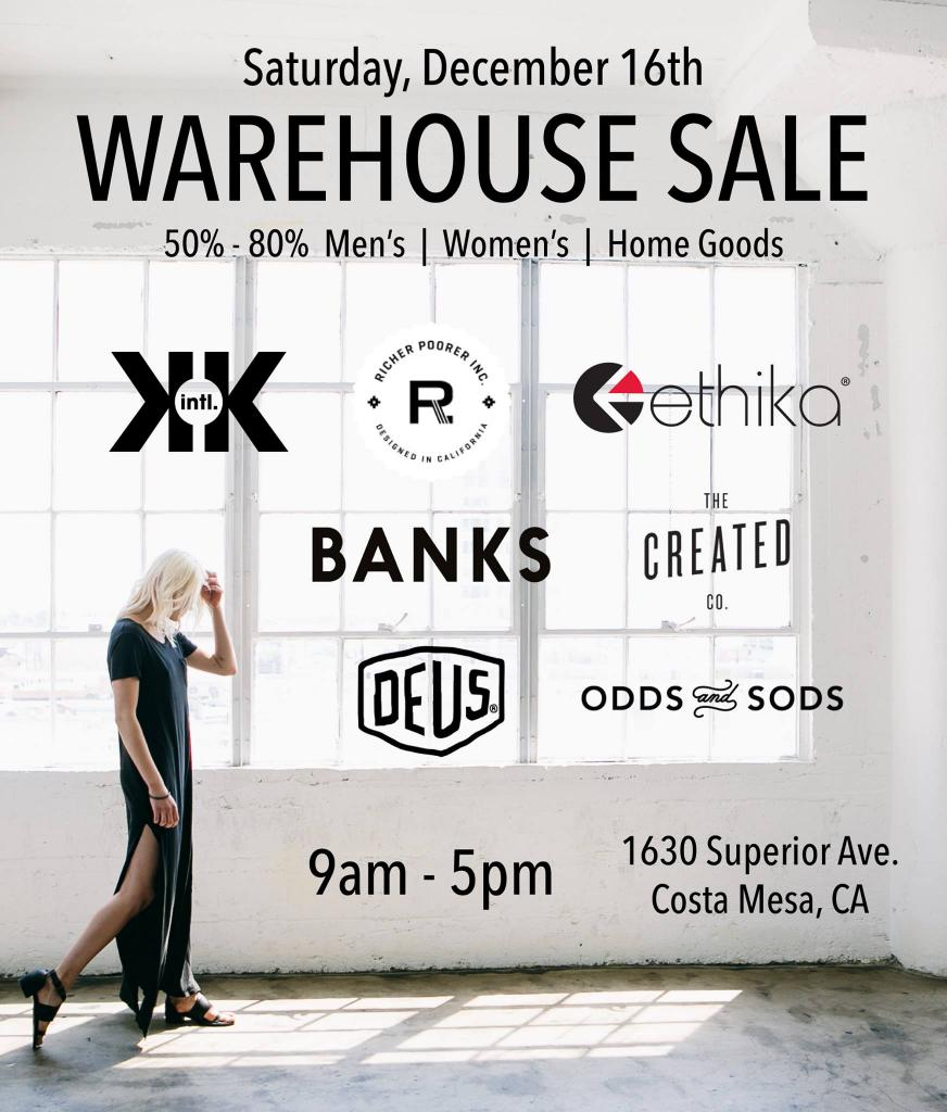 Krochet Kids & Friends Holiday Warehouse Sale