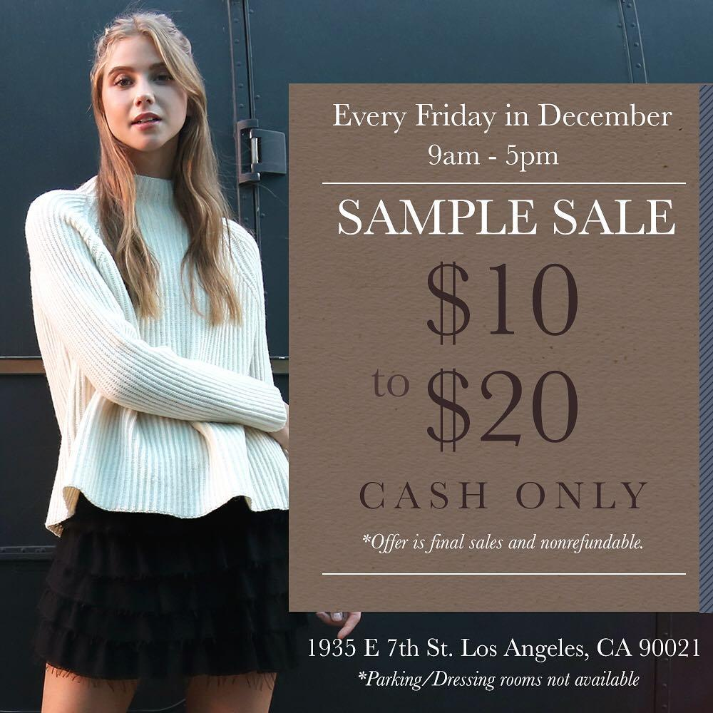 Mo:Vint Sample Sale