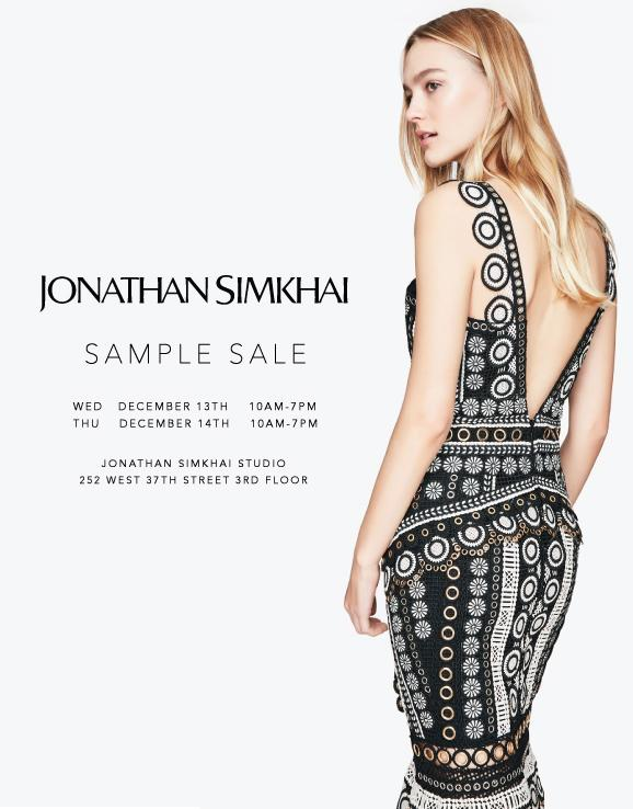 Jonathan Simkhai Sample Sale