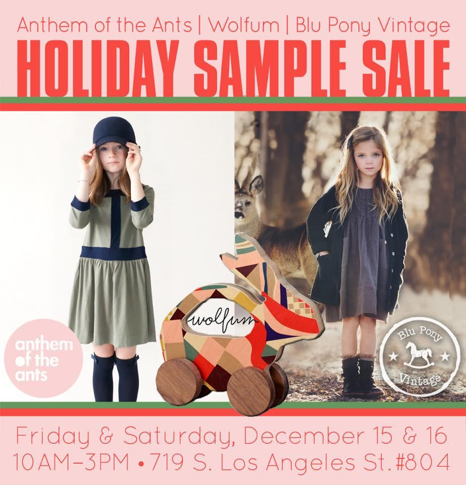 Wolfum, Anthem of the Ants, Blu Pony Sample Sale