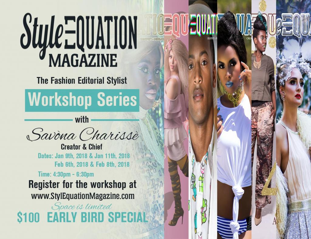 Style Equation Magazine: The Fashion Editorial Stylist Workshop Series
