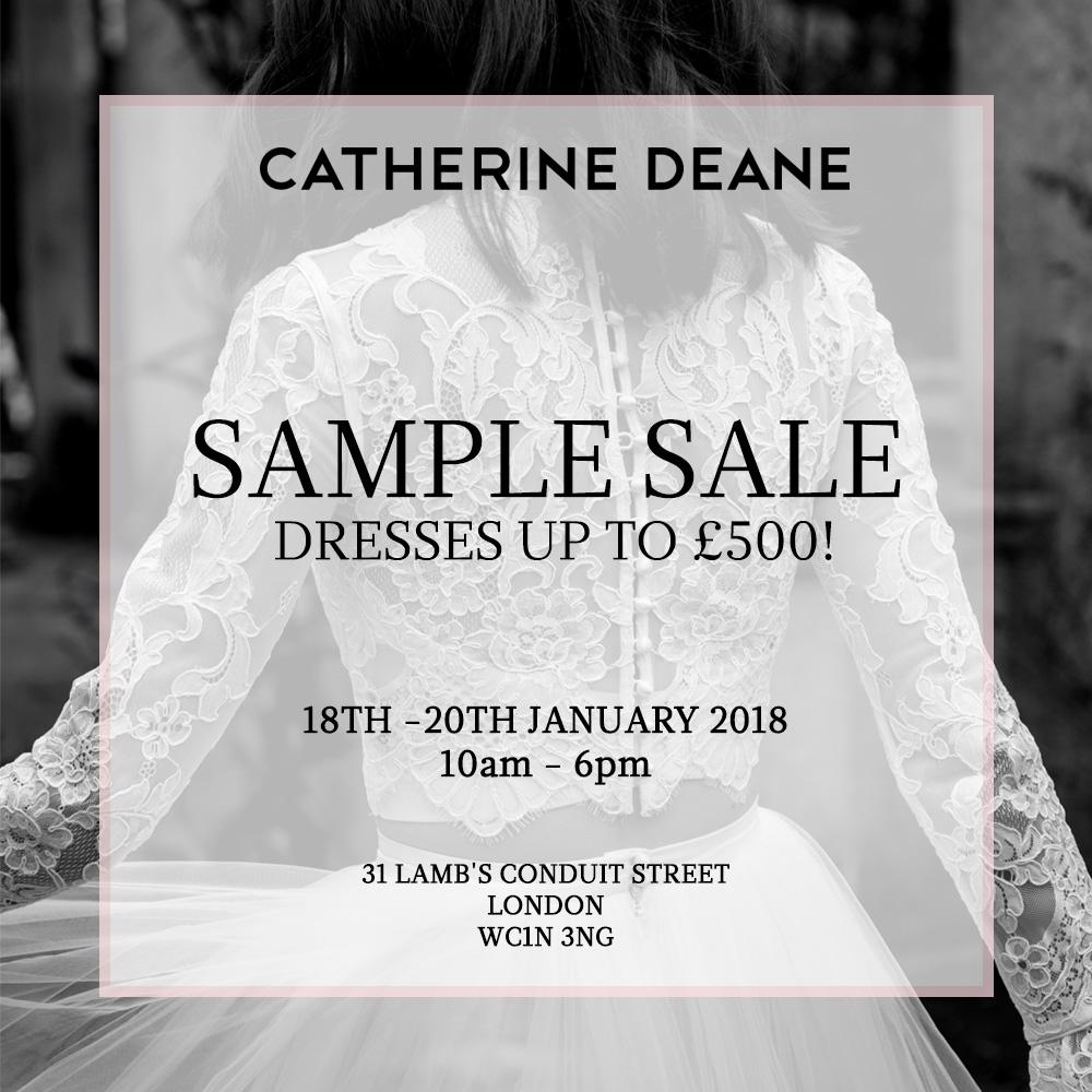 Catherine Deane Sample Sale