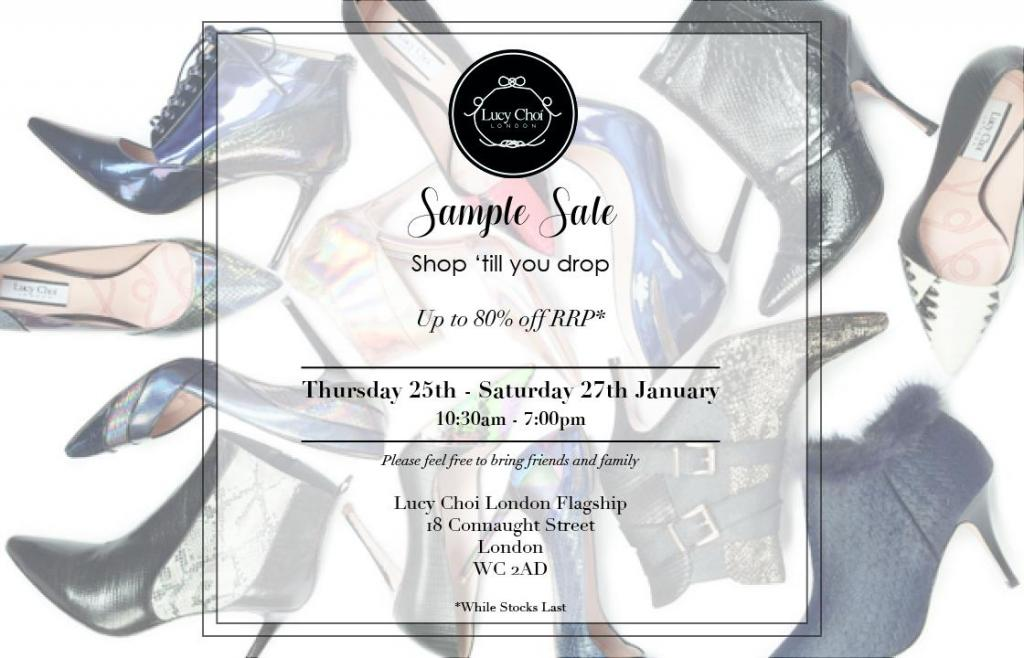 Lucy Choi London Sample Sale