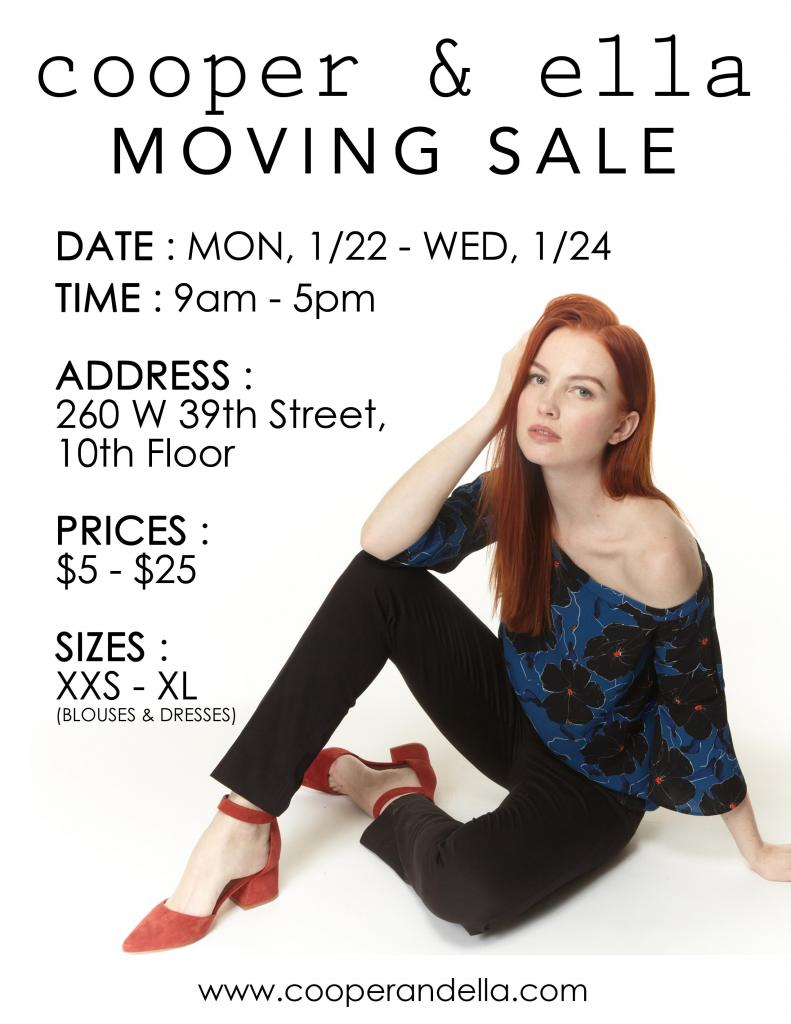 cooper & ella Moving Sale