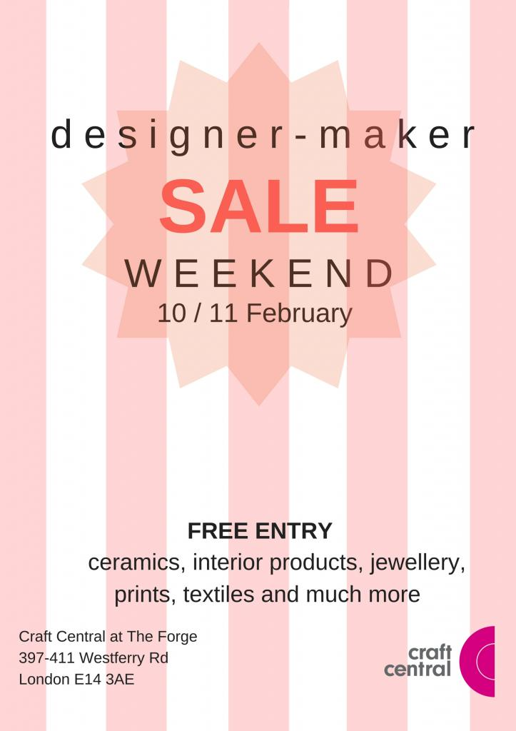Craft Central Designer/Maker Sale