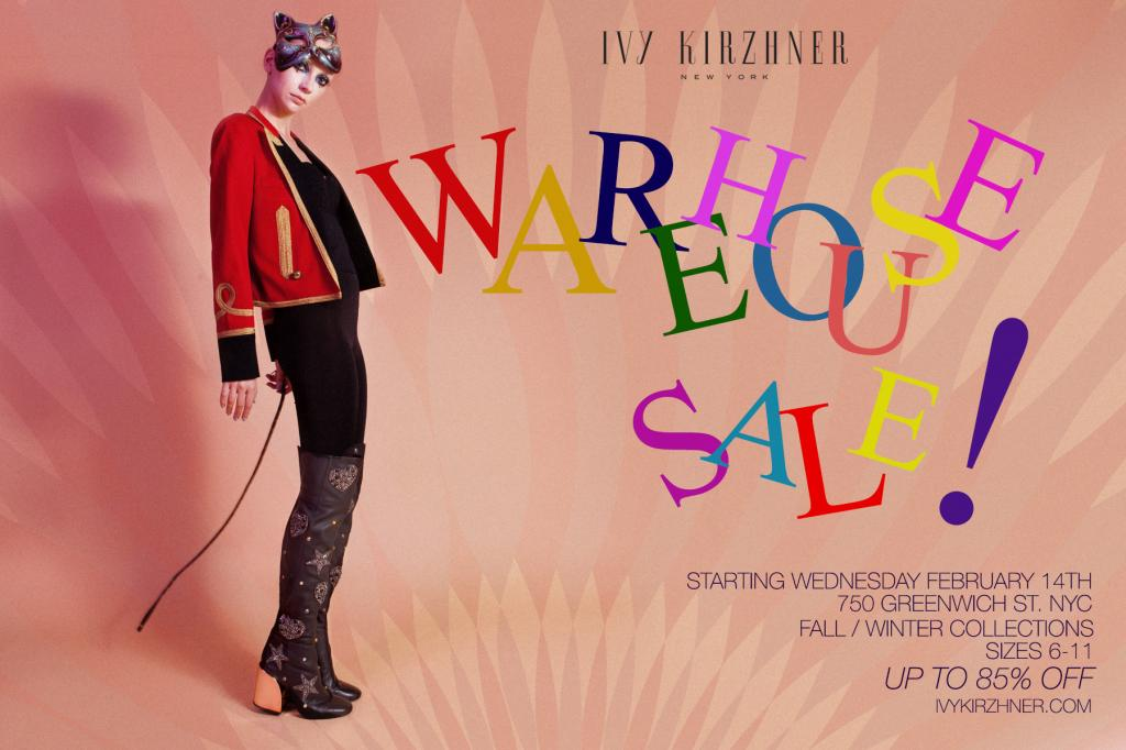 Ivy Kirzhner Warehouse Sale