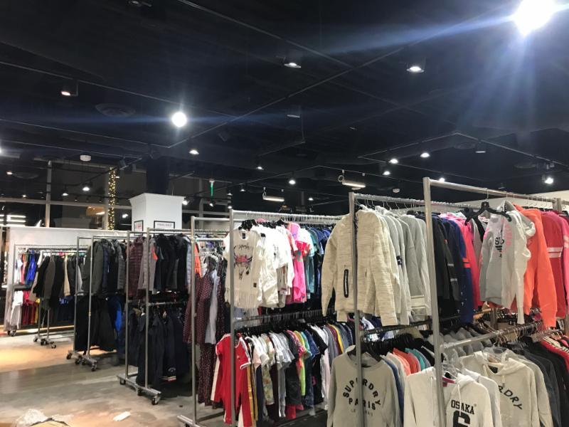 Superdry Sample Sale, Los Angeles, February 2018