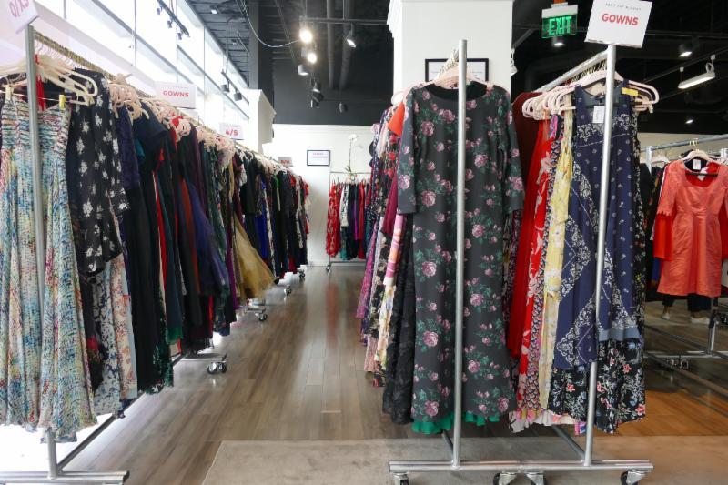 Rent The Runway Sample Sale, Los Angeles, March 2018