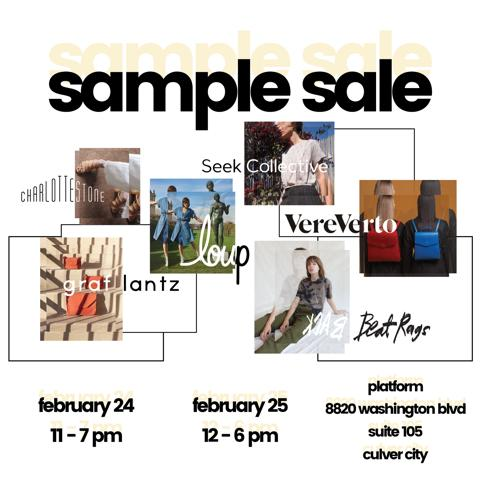 Multibrand LA Designer Sample Sale