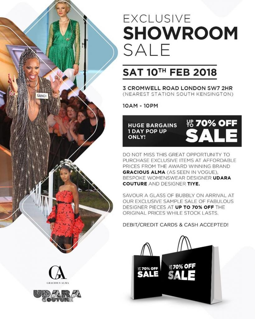 Gracious Alma x Udara Couture Showroom Sale