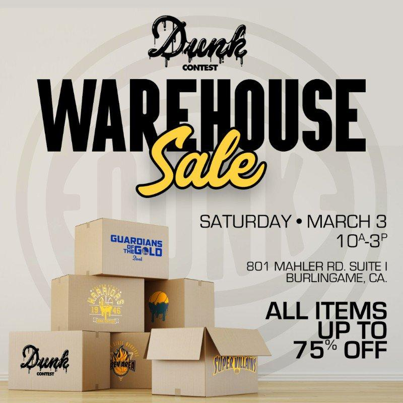 Dunk Contest Warehouse Sale