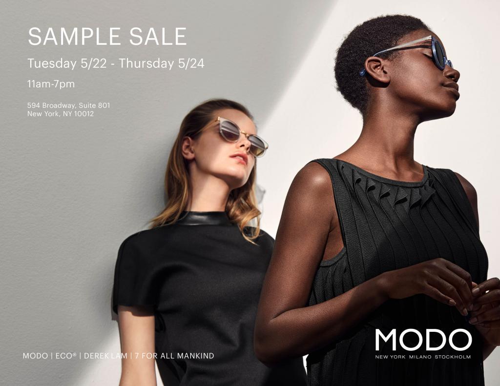8f8444ba373 Modo Eyewear Sample Sale