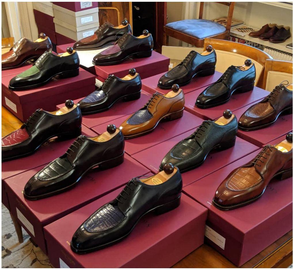 Ascot Shoes Sample Sale, London, September 2019