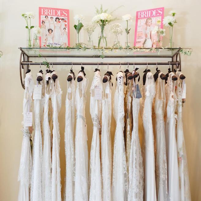 Blackburn Bridal Sample Sale, London, July 2016