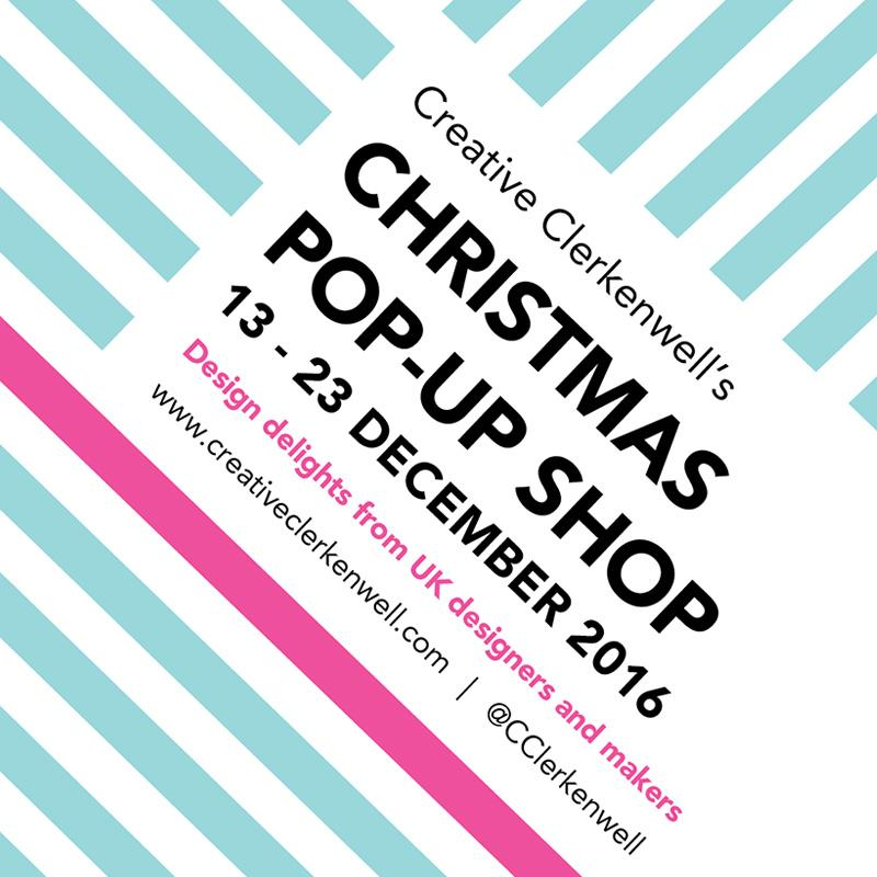 Creative Clerkenwell Christmas Pop Up Shop London