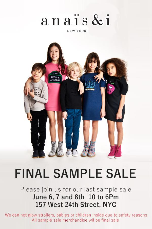 The latest Tweets from Anais and I (@anaisandiNY). Simple clothes, designed, tested and approved by kids!. New York, NY. Skip to content. Home Home Home, current page. Moments Moments Moments, current page. Search query Search Twitter. Saved searches New York Sample Sale.