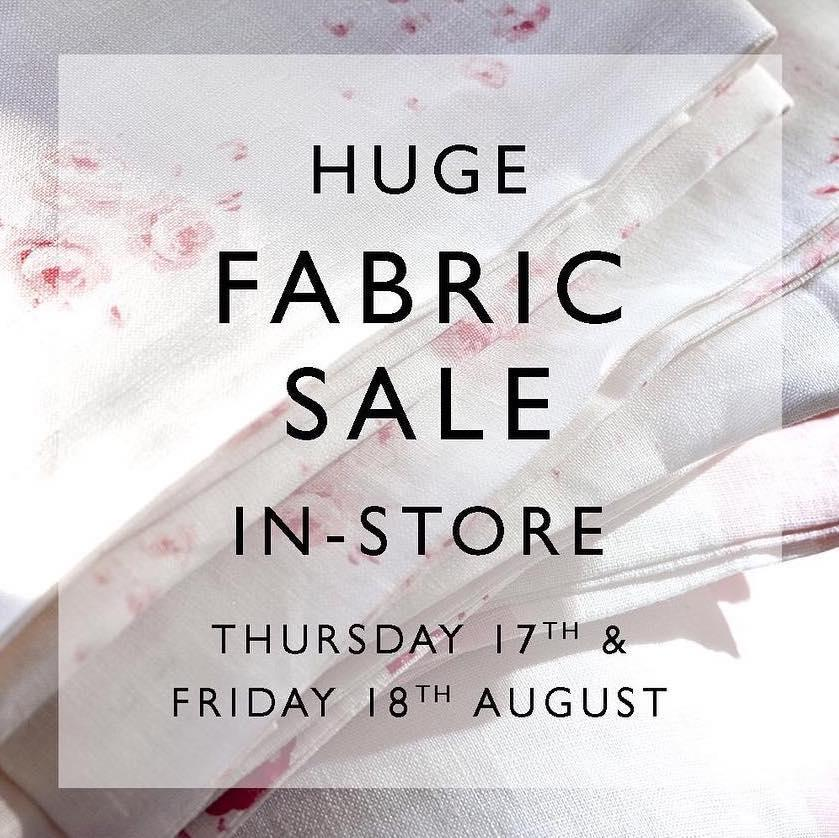 Cabbages & Roses Fabric Sale