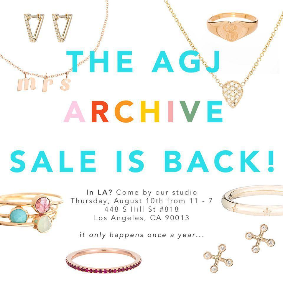 Ariel Gordon Jewelry Archive Sale