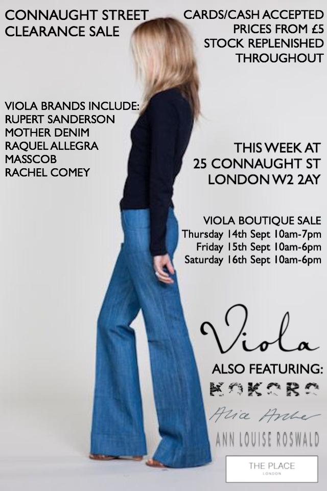 Viola Boutique Clearance Sale