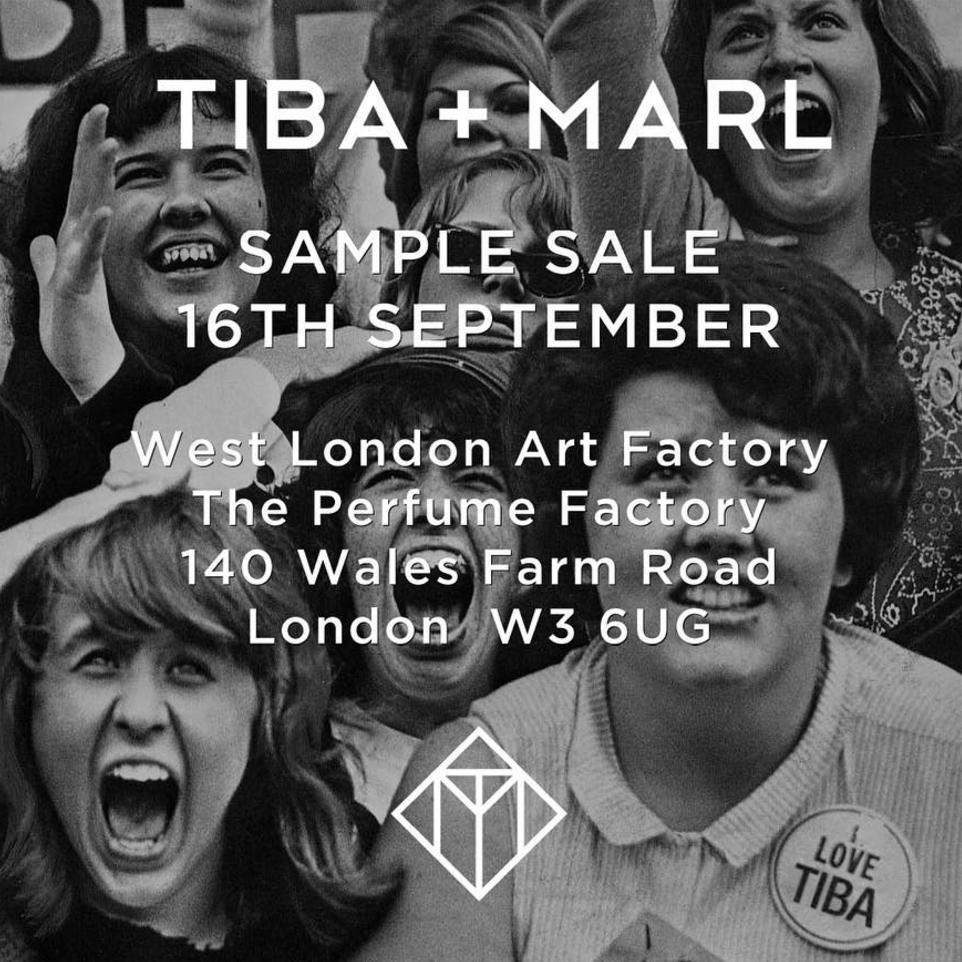 Tiba + Marl Sample Sale